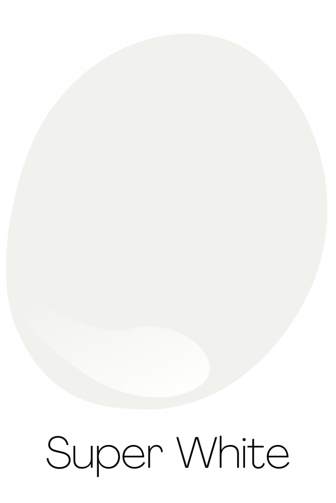 Super White - Best Neutral White Paint Color from Benjamin Moore