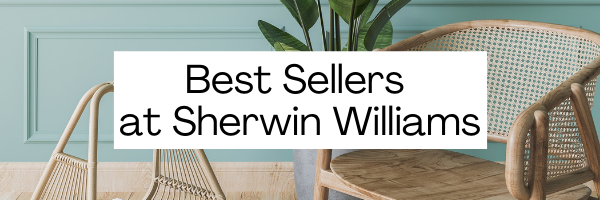 Best Selling Paint Colors at Sherwin Williams