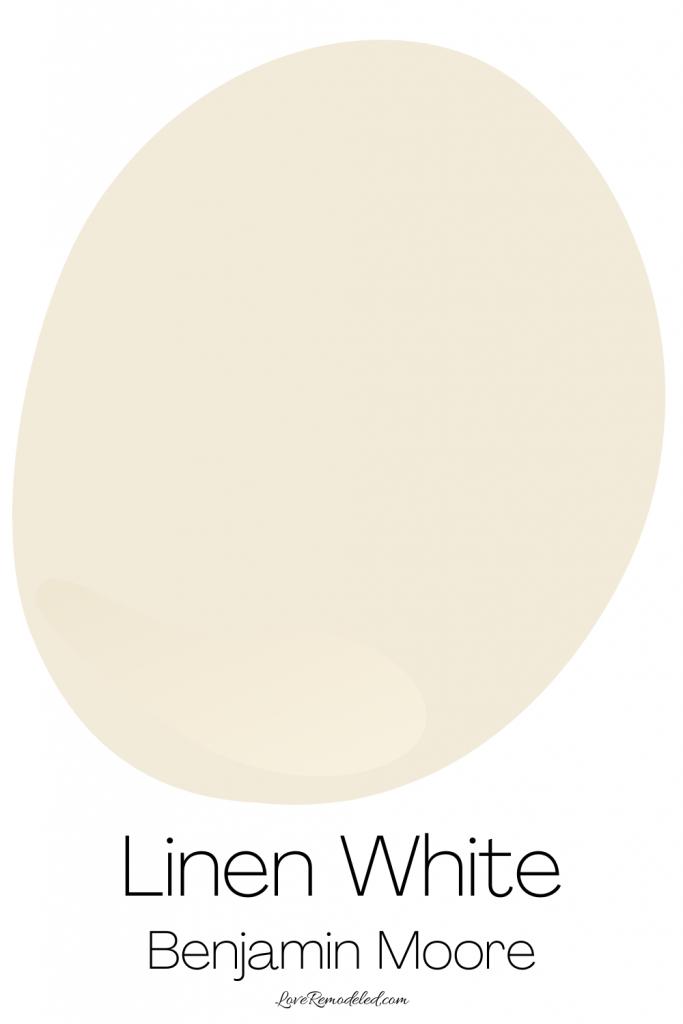 Cream Paint Colors - Linen White