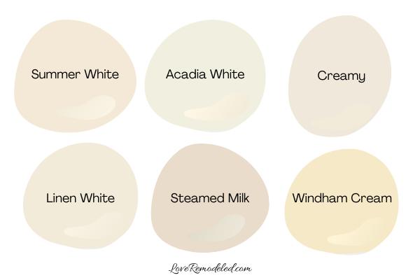 Cream Paint Colors