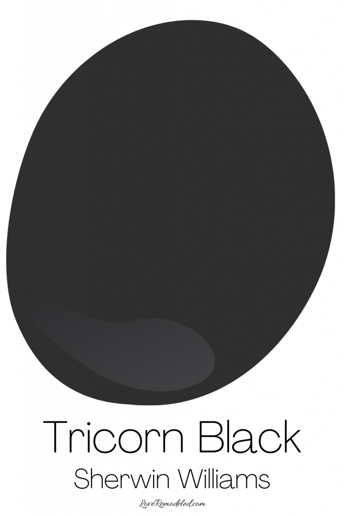 Tricorn Black by Sherwin Williams Color Details