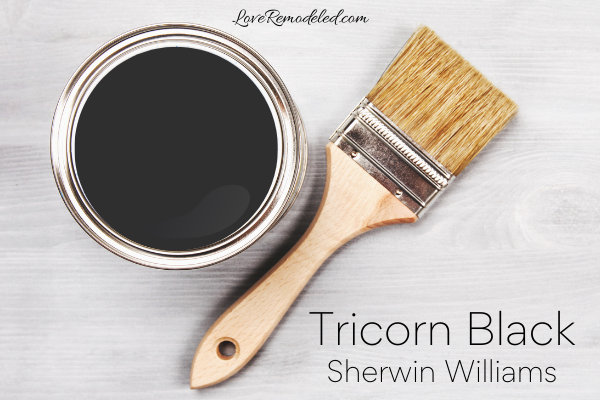 Tricorn Black Paint Color Sherwin Williams