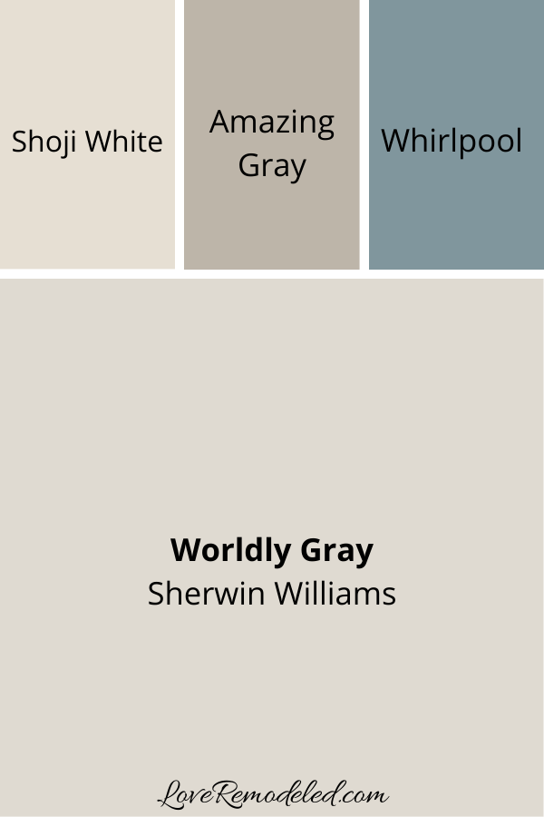 Coordinating Colors for Worldly Gray