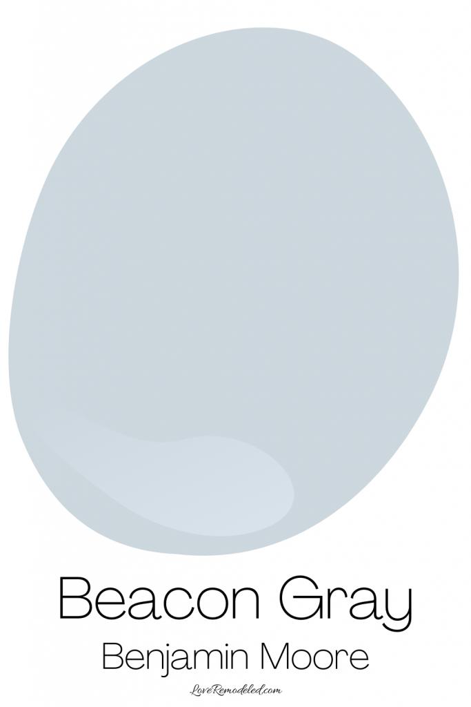 Blue Gray Paint Colors - Beacon Gray