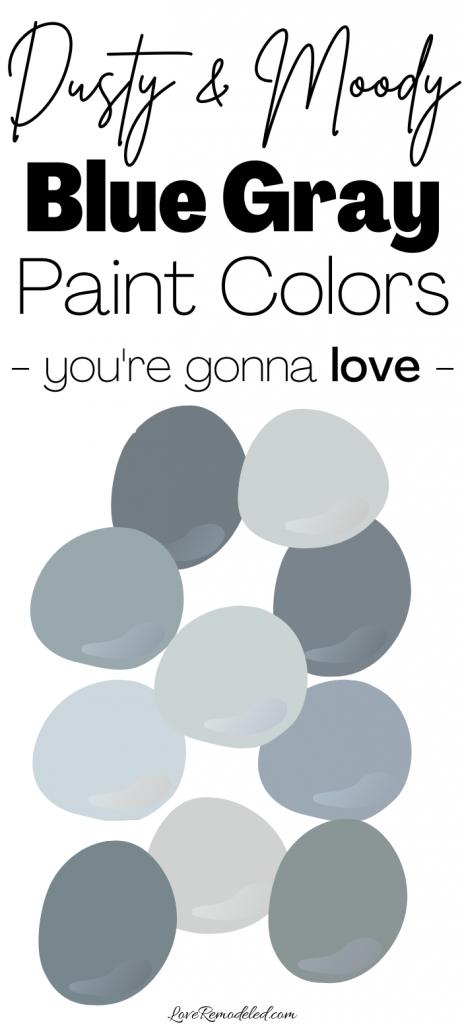 Blue Gray Paint