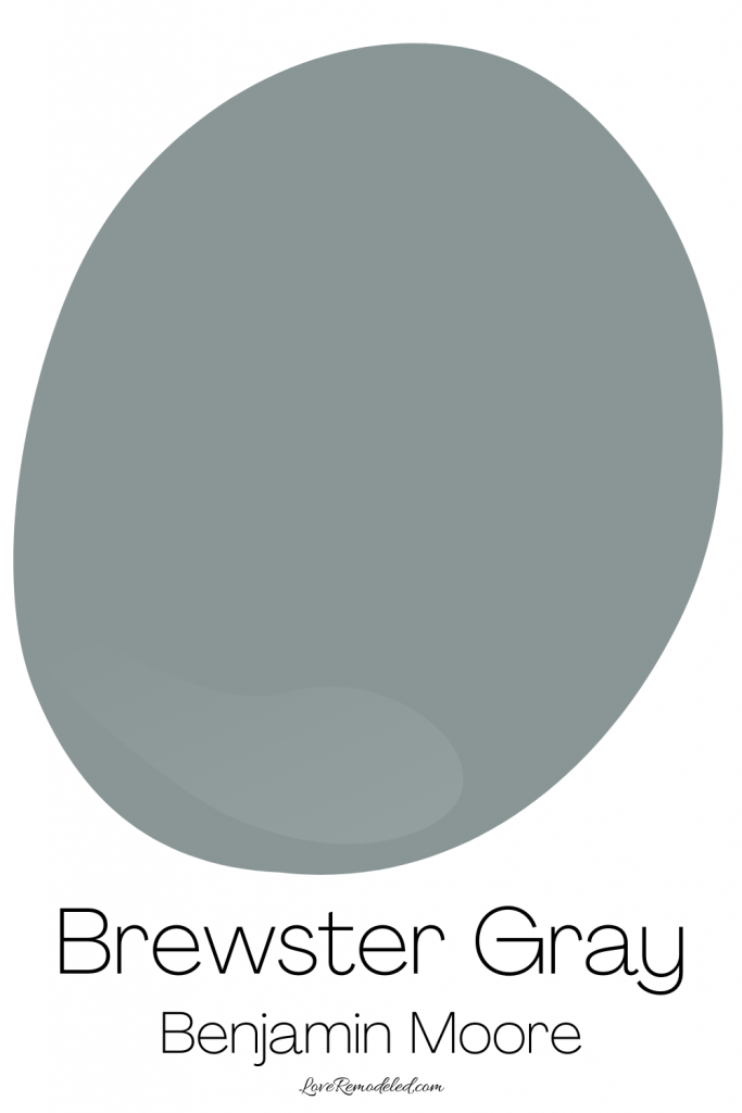 Blue Gray Paint Colors - Brewster Gray