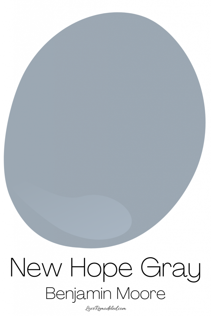 Blue Gray Paint Colors - New Hope Gray