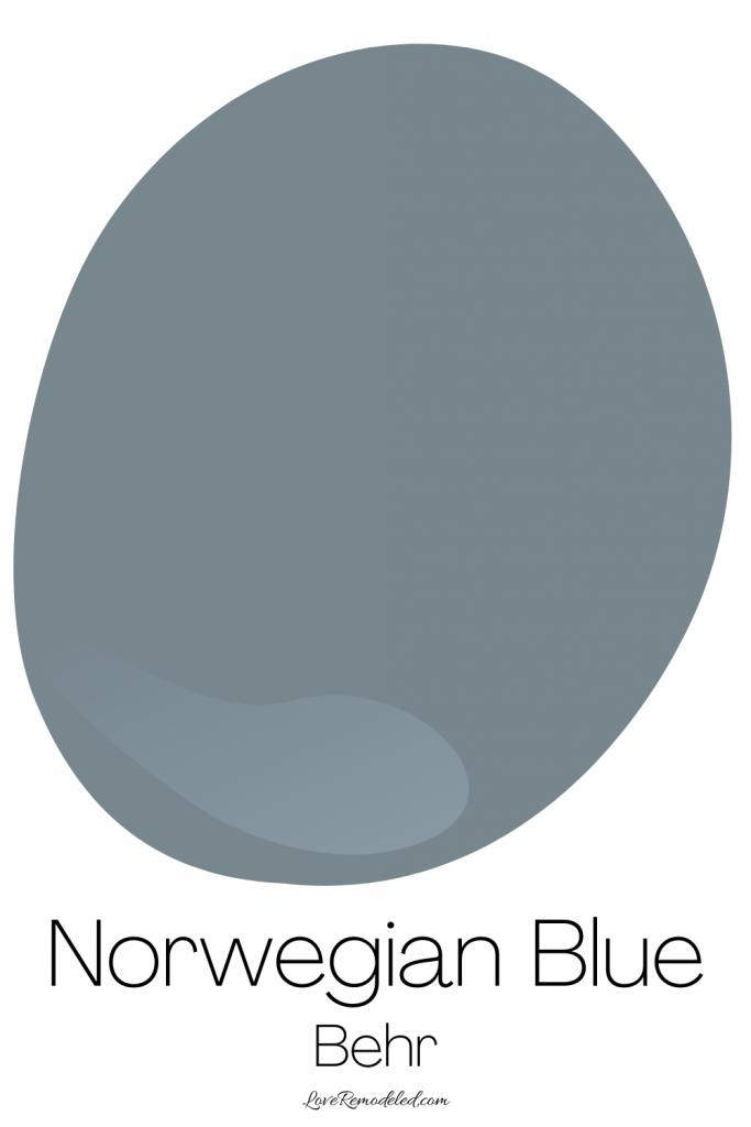 Blue Gray Paint Colors - Norwegian Blue