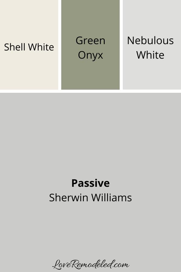 Passive Coordinating Colors