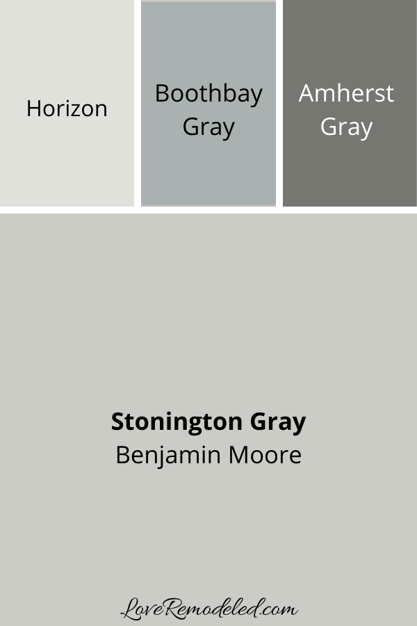 Stonington Gray Coordinating Colors - Colors that go with Stonington Gray