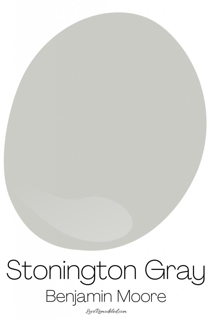 Stonington Gray, by Benjamin Moore