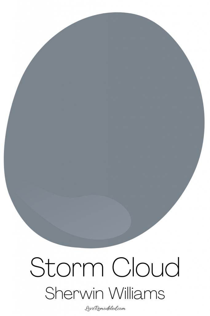 Blue Gray Paint Colors - Storm Cloud
