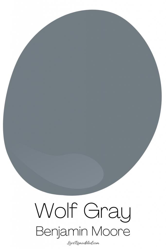 Blue Gray Paint Colors - Wolf Gray