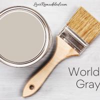Sherwin William Worldly Gray