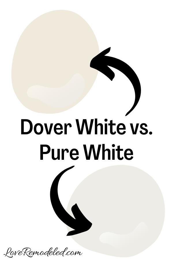 Dover White vs. Pure White