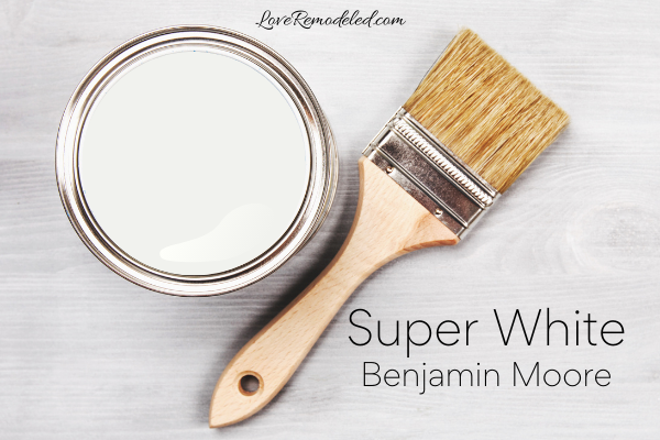 Super White by Benjamin Moore