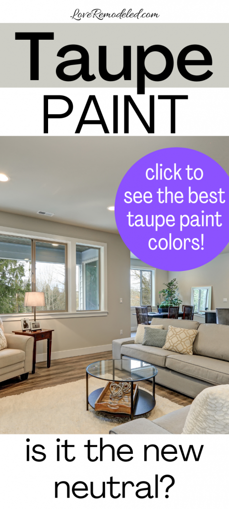 Taupe Paint Colors