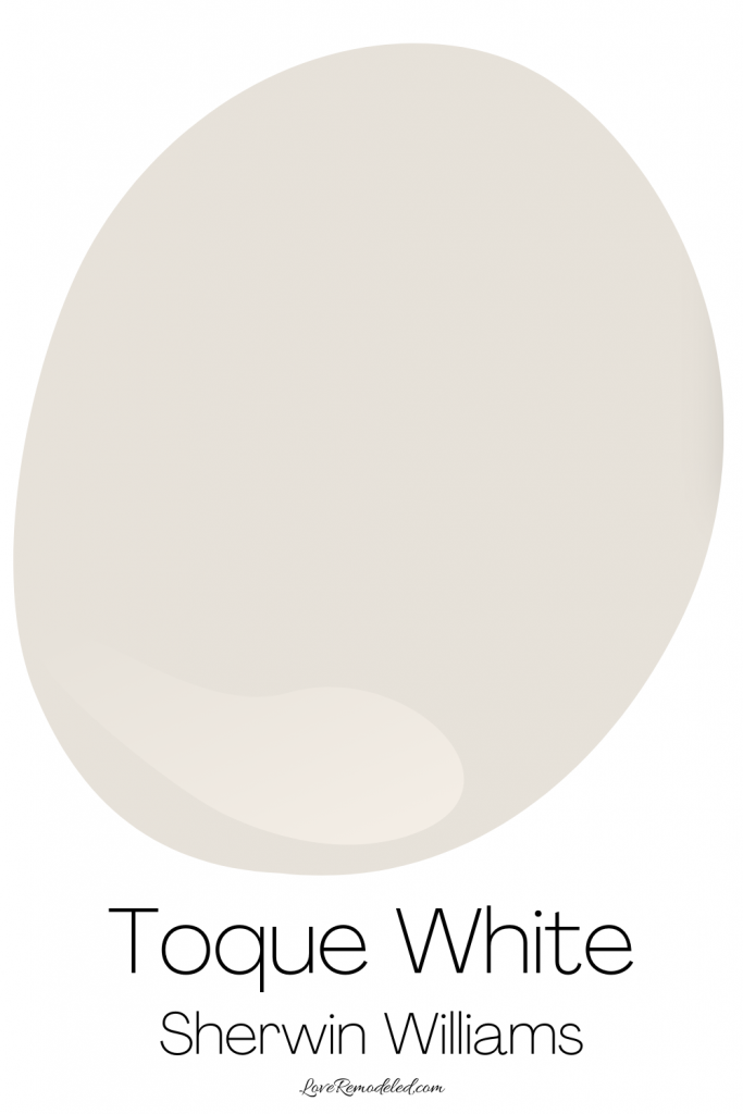 Taupe Paint Colors - Toque White