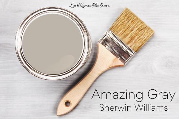 Amazing Gray by Sherwin Williams