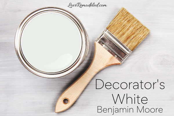 Decorator's White Benjamin Moore