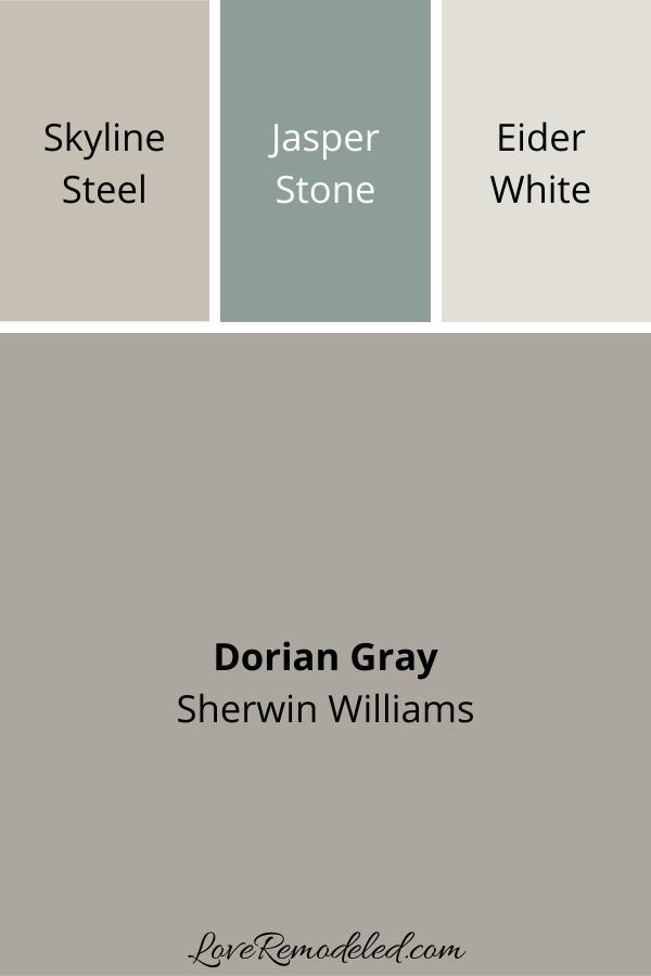 Dorian Gray Coordinating Colors