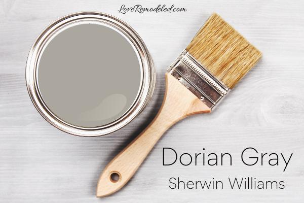 Dorian Gray by Sherwin Williams