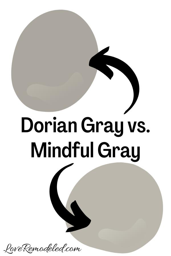 Dorian Gray vs. Mindful Gray