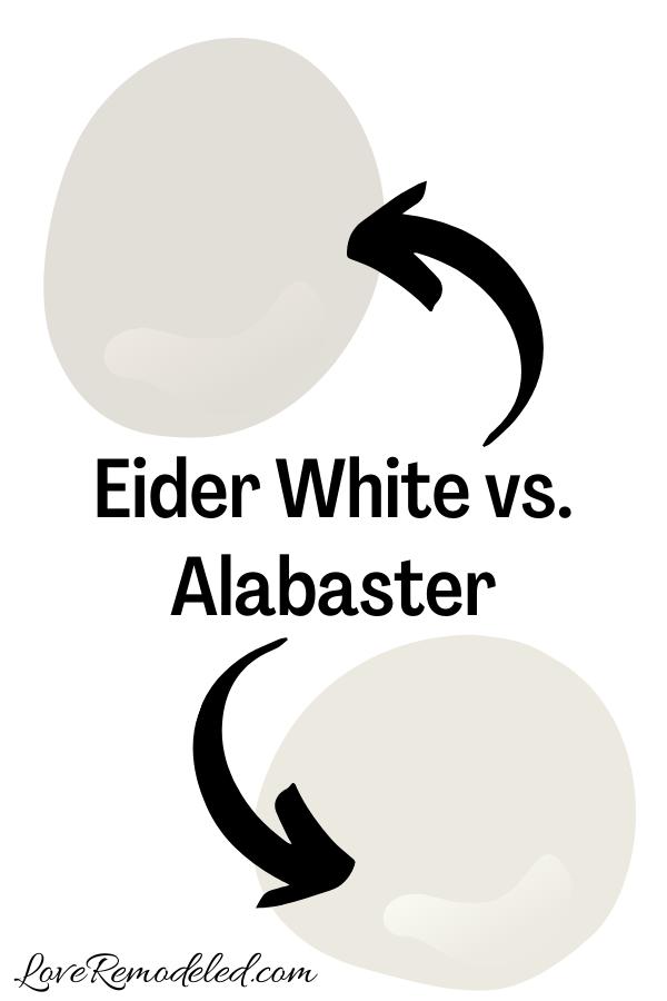 Eider White vs. Alabaster