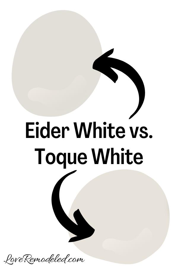 Eider White vs. Toque White