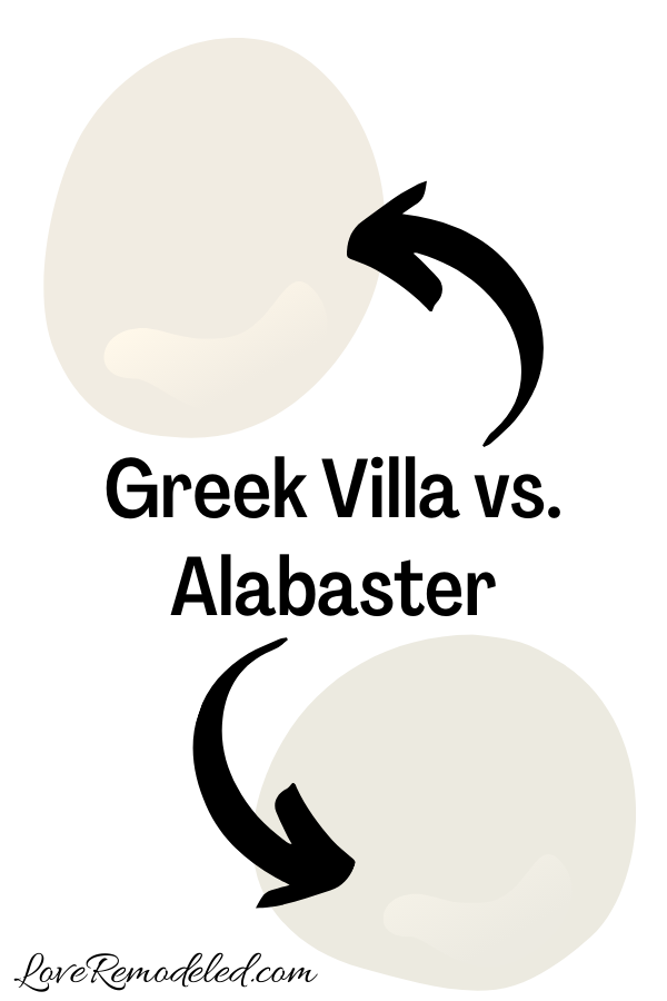 Greek Villa vs. Alabaster