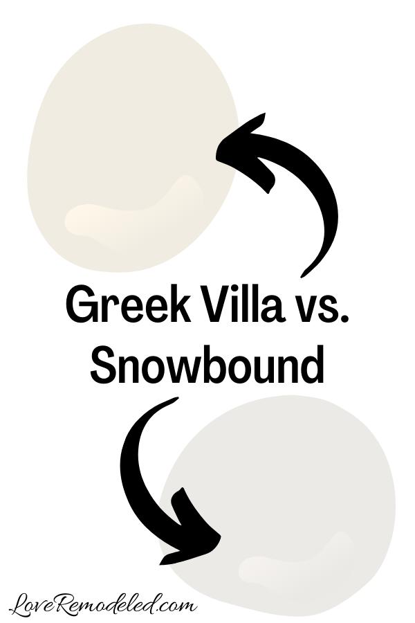 Greek Villa vs. Snowbound