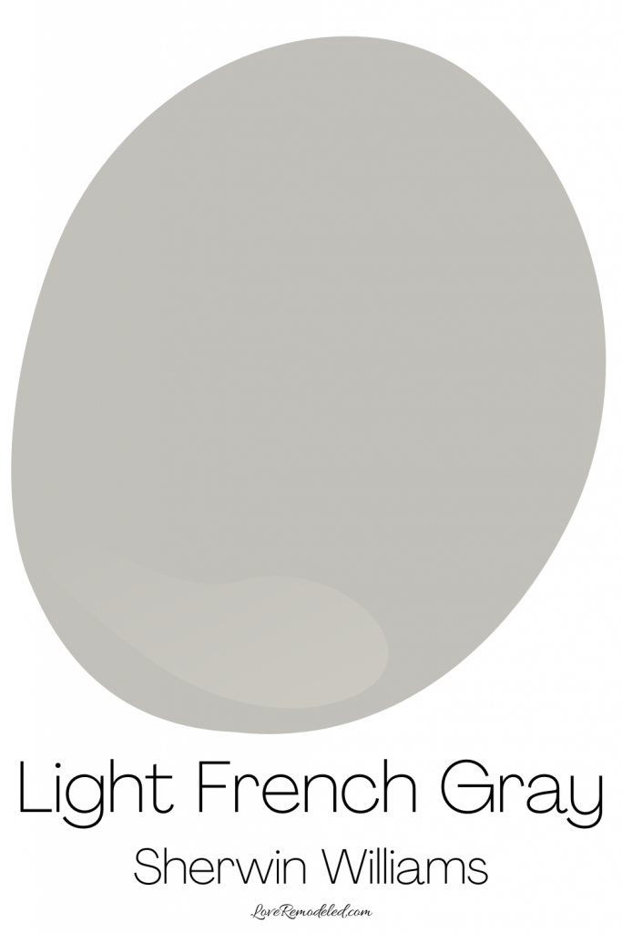 Sherwin Williams Light French Gray Paint