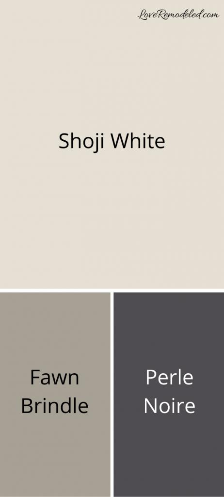 Shoji White Coordinating Colors