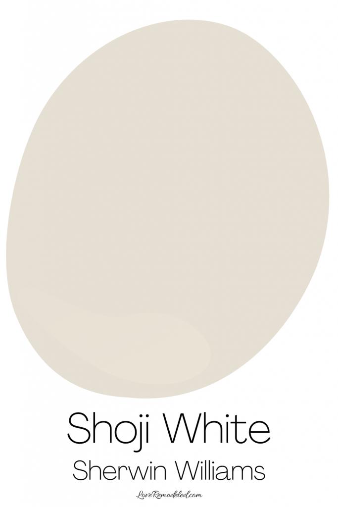 Shoji White Sherwin Williams