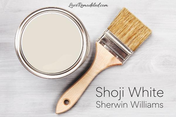 Shoji White by Sherwin Williams