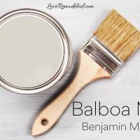 Balboa Mist by Benjamin Moore