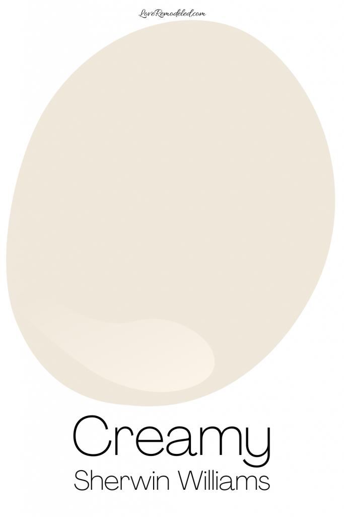 Creamy Sherwin Williams Paint Drop
