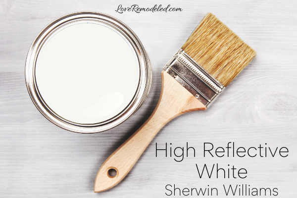 High Reflective White by Sherwin Williams