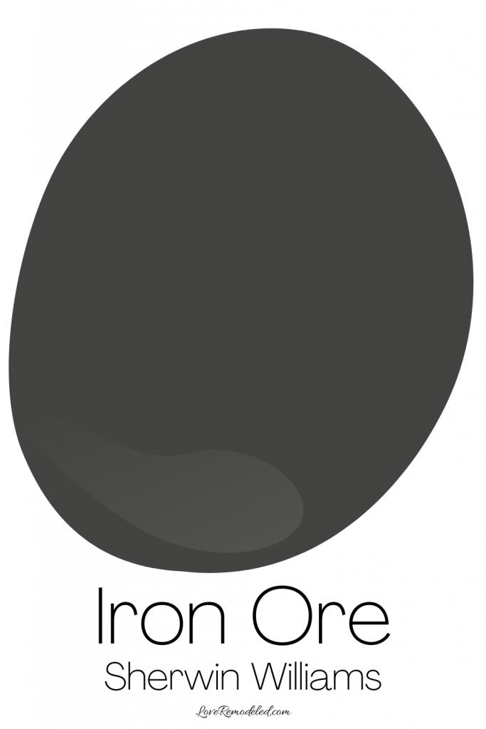 Sherwin Williams Iron Ore Paint Drop