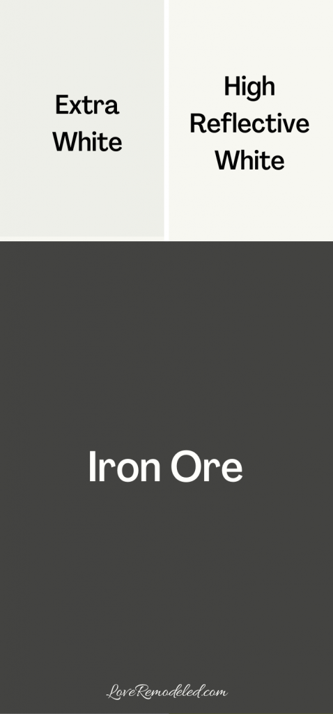 Iron Ore Sherwin Williams Trim Colors