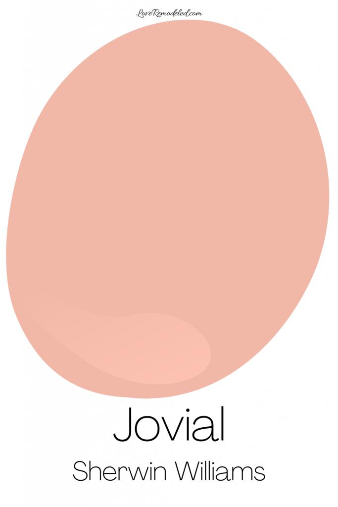 Pink Paint Colors - Jovial