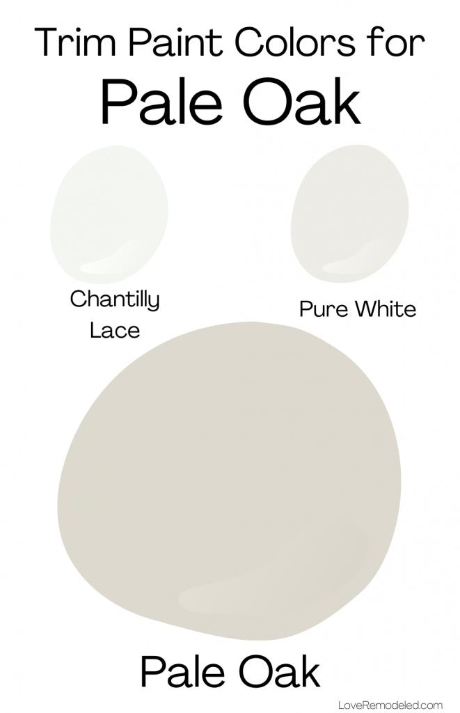 Pale Oak Benjamin Moore Trim Colors