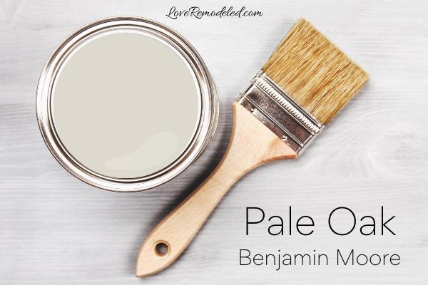 Pale Oak by Benjamin Moore