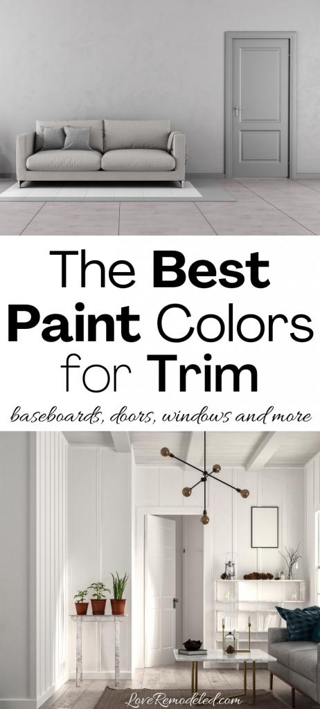 The Best Paint Colors for Trim