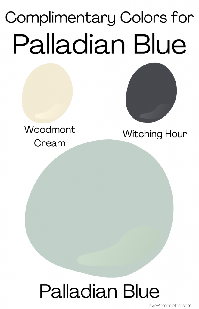 Palladian Blue Benjamin Moore Complimentary Colors 1