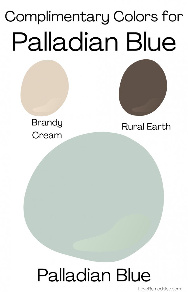 Palladian Blue Benjamin Moore Complimentary Colors 2