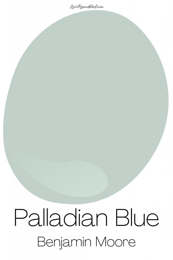 Palladian Blue Benjamin Moore Paint Drop