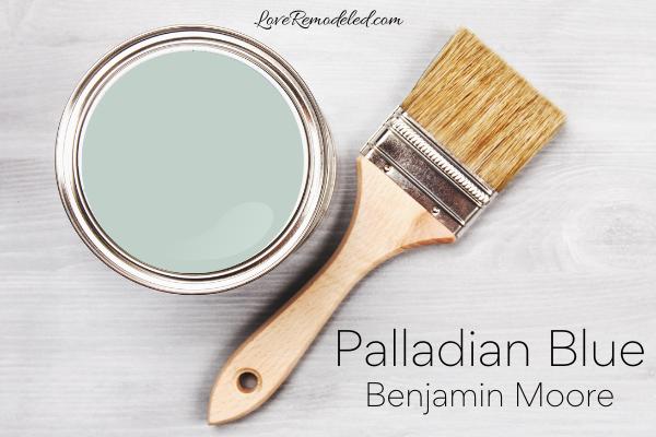 Palladian Blue by Benjamin Moore